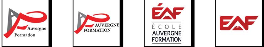 Les logos EAF - Clermont-Ferrand 63
