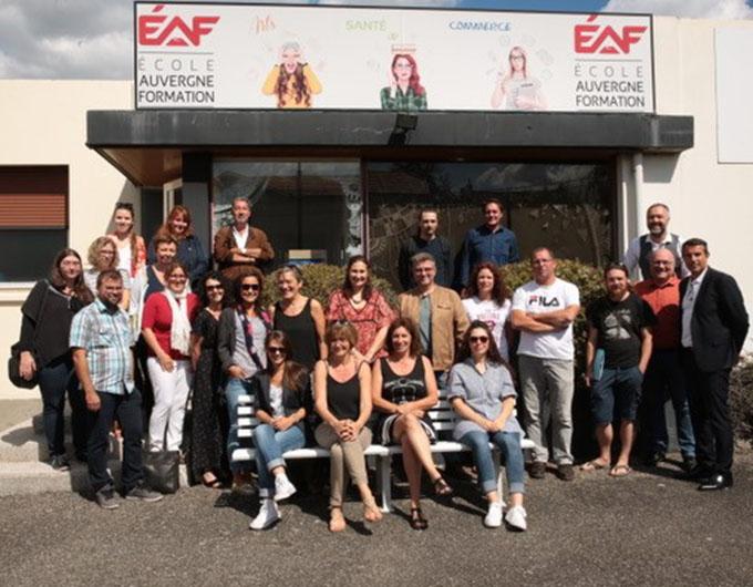 L'équipe EAF - Clermont-Ferrand